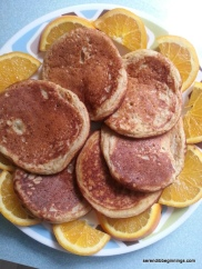 Orange-Ricotta Pancakes