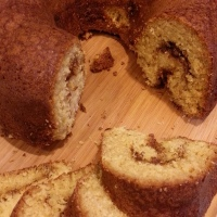 Cinnamon-Walnut Bundt Cake
