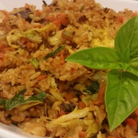 Easy Basil Fried Rice