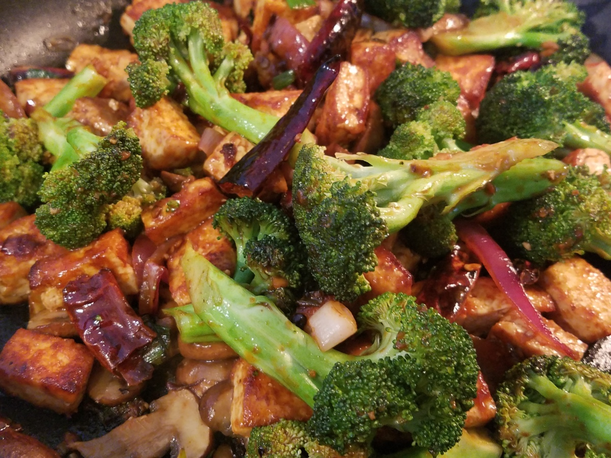 Spicy and Tangy Tofu Stir Fry