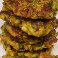 Zucchini-Apple Fritters