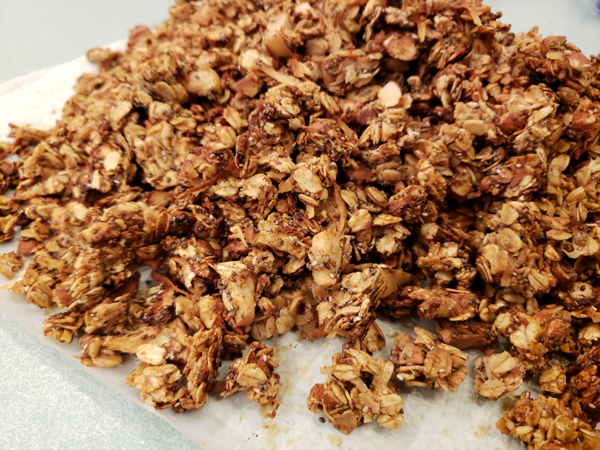 Nutty Fruity Granola